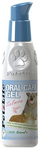 PetzLife Cat and Dog Oral Care Gel with Salmon Oil