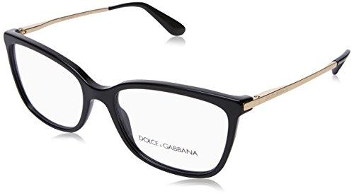 Dolce&Gabbana DG3243 Eyeglass Frames 501-54 - Black - Dolce Glasses Gabbana Men For