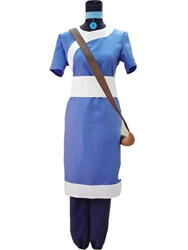 (Procosplay)the Last Airbender Korra Water Tribe Outfit Cosplay Costume &100% Hand Made -
