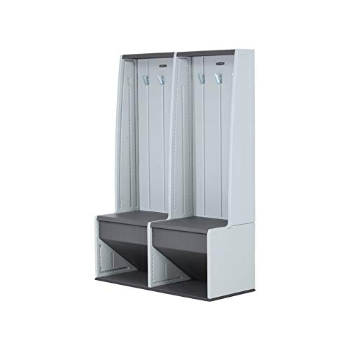 BS Open Storage Locker Hall Tree Bench Tall Garage Cabinet I