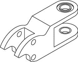 Arm Knuckle for Pelton & Crane PCK645 by Replacement Parts Industries RPI