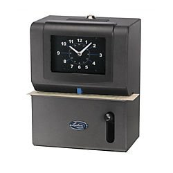 092447000033 - Lathem Heavy-Duty Manual Time Recorder, Cool Gray carousel main 0