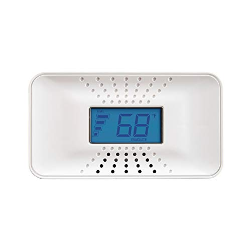 (First Alert Carbon Monoxide Detector with 10-Year Battery and Digital Temperature Display, CO710)