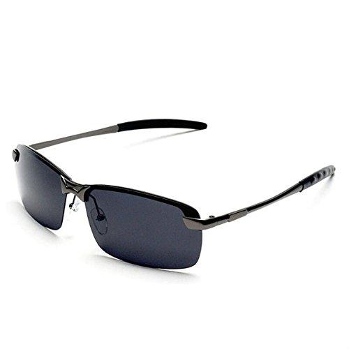 de Gafas Sol EsES de Ash de y Sol Black retrovisores Tinte de Los Gafas Hombres polarizantes KOMNY Inteligente Espejos Gafas zqfvfw