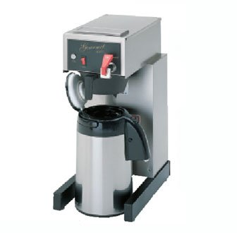 Bloomfield 8782AF Gourmet 1000 Automatic Airpot Brewer, Pour-Over Option, Faucet, 17