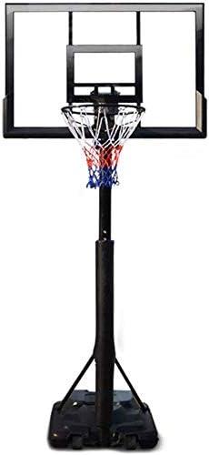 バックボード キッズポータブル高さ調節可能なバスケットボールフープスタンド、47インチのバックボード、バスケットボール目標インドア/アウトドア バスケットボールコート設備