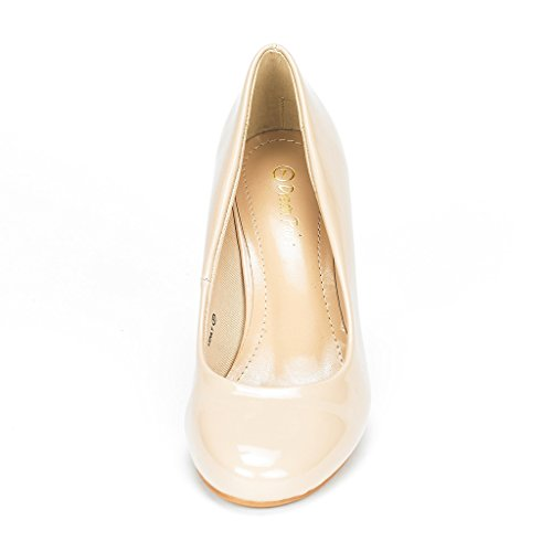 Wedding PAIRS Bridal LUVLY Pump Shoes Low Luvly Women's Heel pat Party nude DREAM dIqpwTp