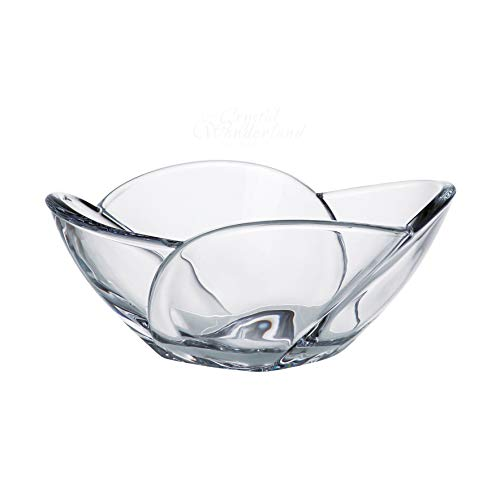 - Tulip Clear Crystal Serving Salad Bowl, 10