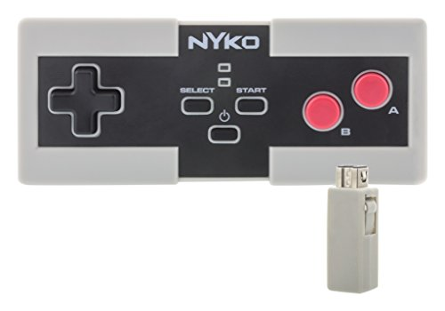 - Nyko Miniboss AAA - Wireless Controller Powered by AAA Batteries for NES Classic Edition