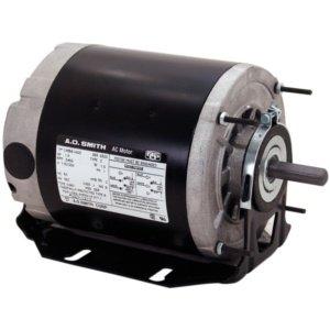 A.O. Smith RB2024 1/4 hp, 1725 RPM, 115 volts, 48 Frame, ODP, Ball Bearing Belt Drive Blower Motor