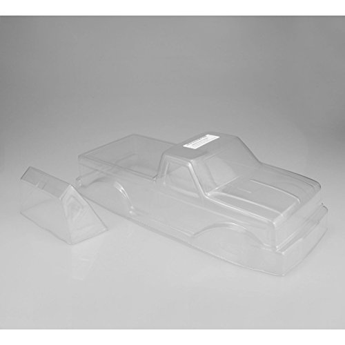 J Concepts Inc. 1/10 1989 Ford F-250 Monster Truck Clear Body with Racerback, JCO0302