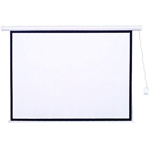 WEIMALL 大画面 プロジェクター スクリーン 100インチ (4:3) 電動格納 リモコン付き B015KRPYN0