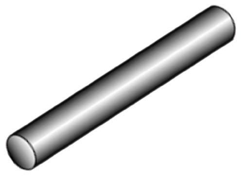 Cratex Rubberized Abrasive Round Rod 6X1/4 Extra Fine
