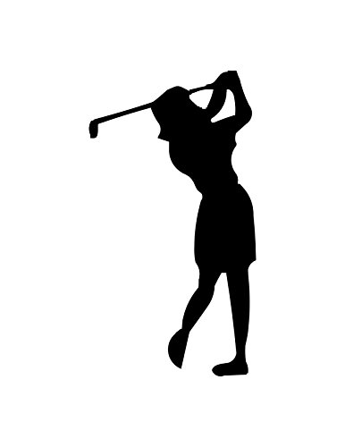Female Golfer (Specify Color Otherwise We Ship White)