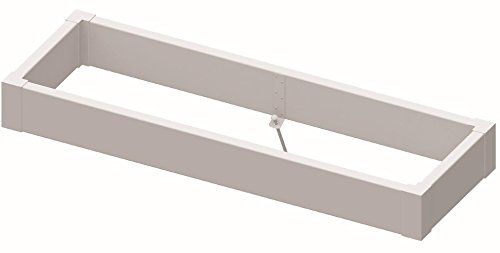 Superior Lawn and Garden 815602608 Raised Bed Kit, White by Superior Lawn and Garden