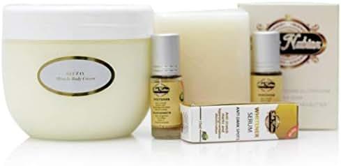 Glutax Miracle Body Cream + 2 Belle Nubian Serum and One Gluta Milk Soap