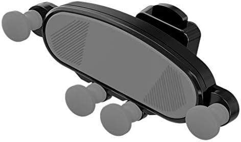 Xigeapg 車の電話ホルダー、ユニバーサル重力自動格納式エアベント携帯電話ホルダーマウント調節可能な車のクレードルマウント、X Xs Max Galaxy S10 S9 すべて4-6.5インチのスマートフォン用