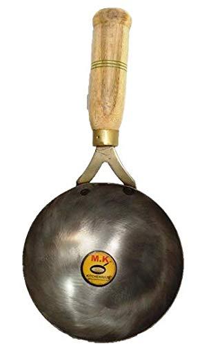 MK KITCHENWARE Iron Tadka Pan 6 inches