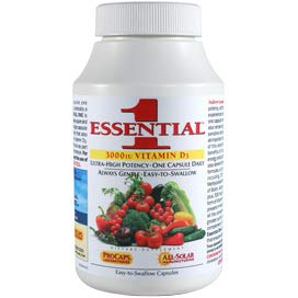 Andrew Lessman Essential-1 with Vitamin D3 Capsules
