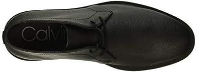 Calvin Klein Men's Cam Tumbled Leather Chukka Boot
