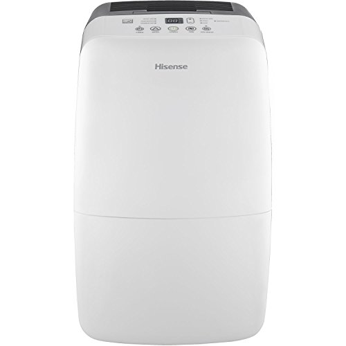 Hisense DH-50KP1SDLE Energy Star 50-Pint 2-Speed Dehumidifier with Built-In Pump by Hisense