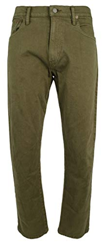 Polo Ralph Lauren Men's Hampton Relaxed Straight Stretch Jeans Pant-G-40WX30L