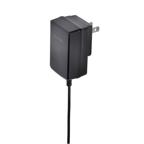 Kensington AbsolutePower 2.4 Amp Wall Charger with Hardwired Lightning Cable (K39768AM)