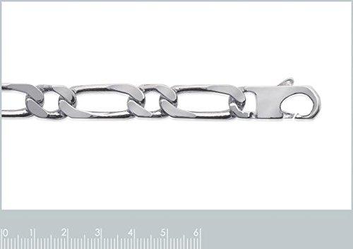 ISADY - Figaro 1-1 10 mm / 23 cm - Chaîne Bracelet - Mixte - Argent Sterling 925