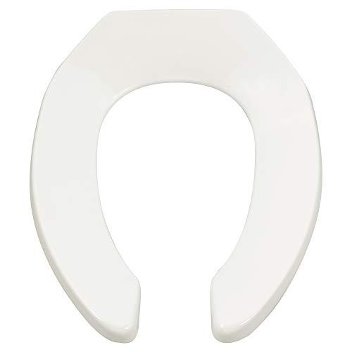 American Standard 5901.100.020 Heavy-Duty Elongated Commercial Toilet Seat, White ()