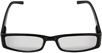 2.50 Magnification Society43 NCAA Unisex Black Frame Readers with Team Logo