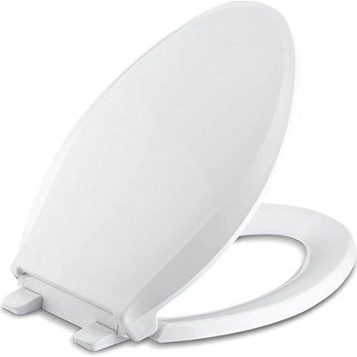 (Cachet Quiet-Close with Grip-Tight Elongated Toilet Seat)