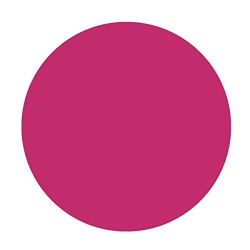 Circle Geometric Shape Round Ellipse - Vinyl Decal for Outdoor Use on Cars, ATV, Boats, Windows and More - Hot Pink (Magenta) 11 inch