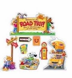 - Creative Teaching Press 93242 Bulletin Board Set Road Trip