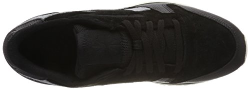 Reebok Herren Classic Leather Ripple SM Gymnastikschuhe Schwarz (Blackcool Shadowchalk)