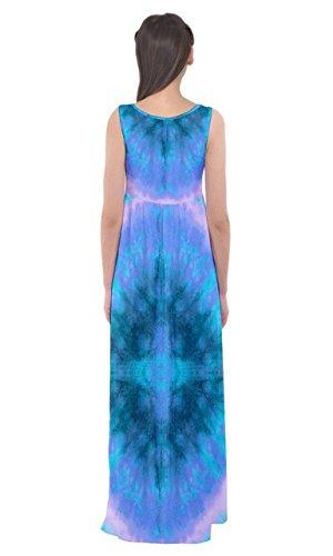 Aqua 2 Tie Maxi Womens Tie Aqua 2 Ltall Dye Cowcow Dye Dell'impero Vita Vestito fxqZw1TWqz