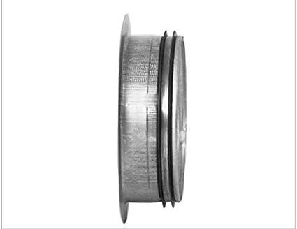 Bundkragen Flansch 63-450 mm mit Dichtung f/ür Wickelfalzrohr Aluflexrohr 450 mm