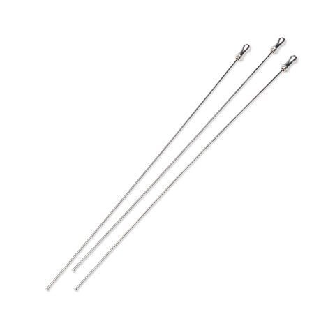 Bulk Buy: Darice DIY Crafts Hat Pins Bright Silver Plated 7 inches 3 pieces (3-Pack) 2001-31