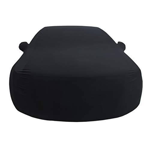 (Car Cover Applicable to Bentley Flying SPUR Car Cover Indoor Exhibition Hall Basement Car Cover Sunscreen Stretch Cloth Car Cover (Color : Black, Size : Bentley Flying SPUR))