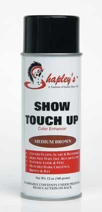 Shapley's Show Touch Up Color Enhancer, Medium Brown by Shapley's Equine Grooming Products