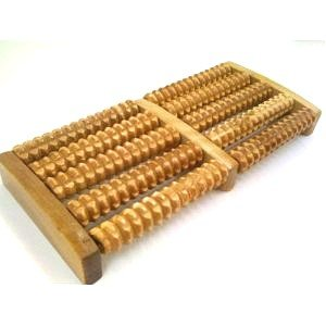 Accupressure Roller Wood Foot Massager Stress Relief wooden rollers
