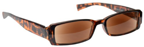 The Reading Glasses Company Brown Tortoiseshell Sun Readers UV400 Designer Style Womens Ladies Inc Bag S3-2 +1.50