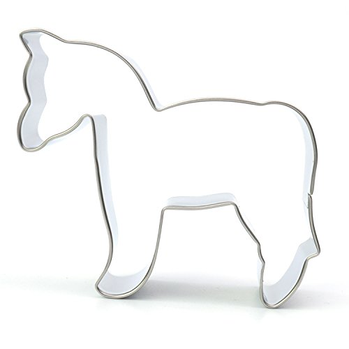 Horse Stainless Steel Cookie CutterApprox3.1 x 2.7 inches