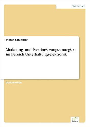 Marketing- und Positionierungsstrategien im Bereich Unterhaltungselektronik