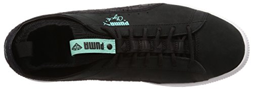 Schwarz Diamond Black Clyde Puma Sock Lo pqxXvTA