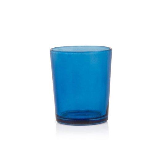 Premium Set of 24 Cobalt Blue Clear Votive Candle Holder Ideal For Weddings, Parties, Special Events, Wholesale Bulk (Cobalt Candlestick)