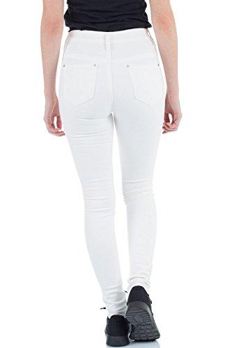 Femme Blanc Crme Skinny malucas Jeans 4vxSgB