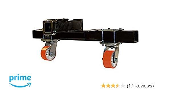 Set of 2 Paktron 10-4217 Rigid 2-1//2 Hitch Bar Skid Roller