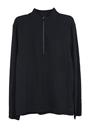 Lululemon Black 4 Way Stretch Surge Warm 1/2 Zip LS Top Men's Extra Large - Jacket Lululemon Run