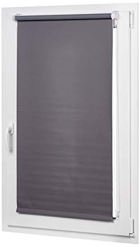 AmazonBasics Blackout rollo blind with matched colour coating 90 x 150 cm,...