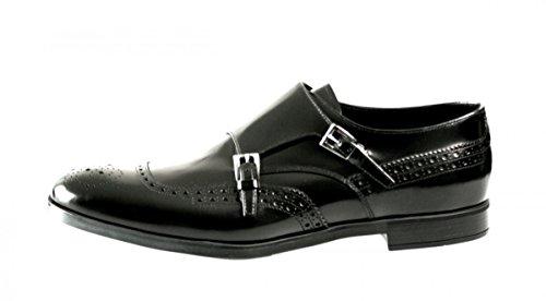 Prada Hommes 2of044 Chaussures De Sport En Cuir Pleine Brogue
